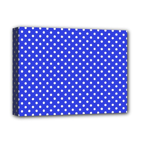 Polka Dots Deluxe Canvas 16  X 12