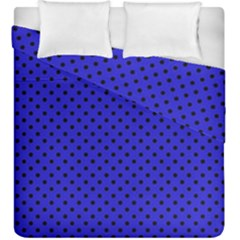 Polka Dots Duvet Cover Double Side (king Size)