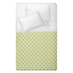 Polka Dots Duvet Cover (single Size) by Valentinaart