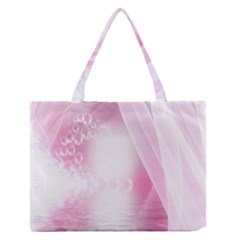 Realm Of Dreams Light Effect Abstract Background Medium Zipper Tote Bag by Simbadda