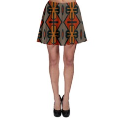 Seamless Pattern Digitally Created Tilable Abstract Skater Skirt by Simbadda