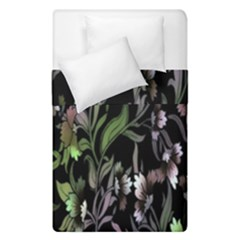 Floral Pattern Background Duvet Cover Double Side (single Size) by Simbadda