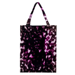 Background Structure Magenta Brown Classic Tote Bag by Simbadda
