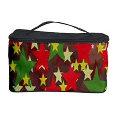 Star Abstract Multicoloured Stars Background Pattern Cosmetic Storage Case