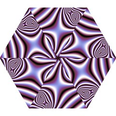 Fractal Background With Curves Created From Checkboard Mini Folding Umbrellas by Simbadda