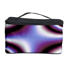 Fractal Background With Curves Created From Checkboard Cosmetic Storage Case