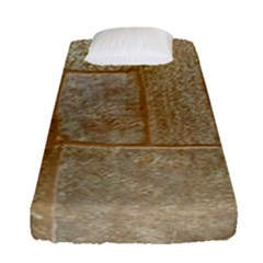Texture Of Ceramic Tile Fitted Sheet (single Size) by Simbadda