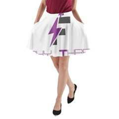 Original Logos 2017 Feb 5529 58abaecc49c40 (1) A Line Pocket Skirt by FlashyThread