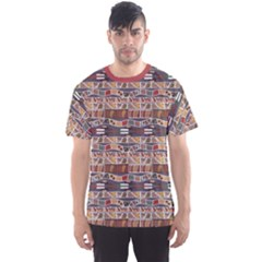Brown In The African Style Men s Sport Mesh Tee by CoolDesigns