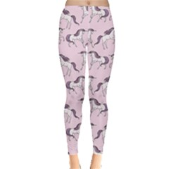 Purple Unicorn Seamless Women s Leggings