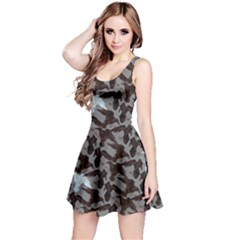 Gray Reversible Sleeveless Dress