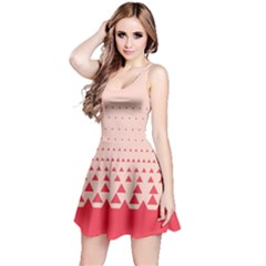 Coral Triangles Reversible Sleeveless Dress