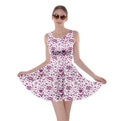 Purple Sex Pattern Skater Dress by CoolDesigns