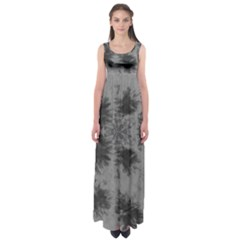 Black Tie Dye Empire Waist Maxi Dress by CoolDesigns