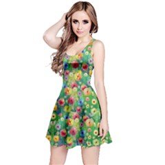 Colorful Garden 2 Sleeveless Dress