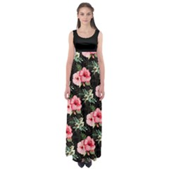 Hawaii3 Empire Waist Maxi Dress by CoolDesigns