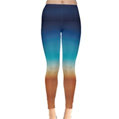 Desert Gradient Tie Dye Leggings