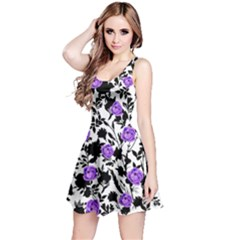 Blackshadowpurple Sleeveless Skater Dress by CoolDesigns