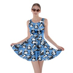 Blue 2 Panda Skater Dress by CoolDesigns
