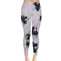 Zantedeschia Leggings