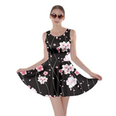 Dark Blossom Skater Dress