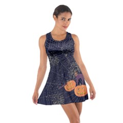 Navy Halloween Cotton Racerback Dress