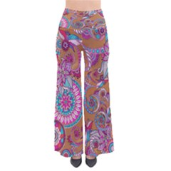 Brownpaisley Chic Palazzo Pants by CoolDesigns