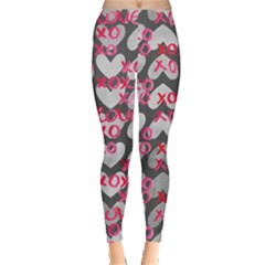 Xo Heart Leggings  by CoolDesigns