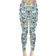 Shamrock Handraw Leggings