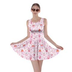 Ice2 Yummy Ice Cream Pattern Skater Dress by CoolDesigns