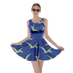 Frizzle Dinosaur Pterosaur Skater Dress by CoolDesigns