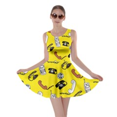 Frizzle Phone 3 Skater Dress by CoolDesigns