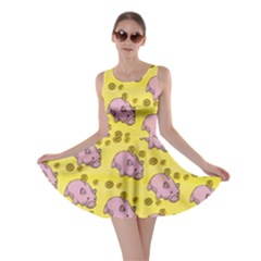Frizzle Money Pig Skater Dress