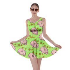 Frizzle Money Pig 2 Skater Dress