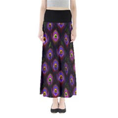 Purple Feather Maxi Skirt by CoolDesigns