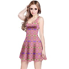 Pinky Tribal Sleeveless Dress by CoolDesigns