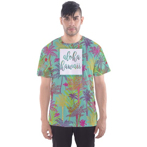 Hawaii Aqua Men s Sport Mesh Tee by CoolDesigns