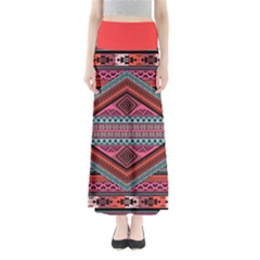 Pink Tribal Maxi Skirt by CoolDesigns
