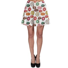 Colorful Donuts Pattern Skater Dress by CoolDesigns