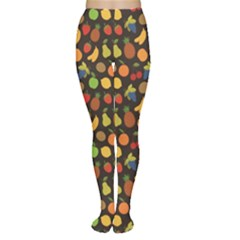 Colorful Pattern Set Of Fruit Tights by CoolDesigns