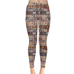 Brown In The African Style Women s Leggings by CoolDesigns