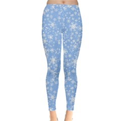 Frozen Blue Leggings