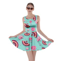Blossom Mint Skater Dress by CoolDesigns