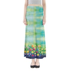 Colorful Garden Maxi Skirt by CoolDesigns