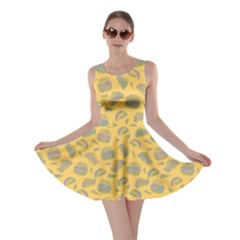 Yellow Hamburger Skater Dress