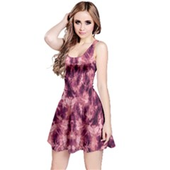 Magenta Tie Dye Sleeveless Dress by CoolDesigns