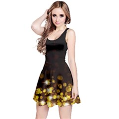 Xmas Golden Reversible Sleeveless Dress by CoolDesigns