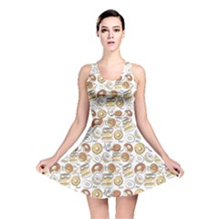 e2af2adaaa Colorful Donut Pattern Reversible Skater Dress by CoolDesigns