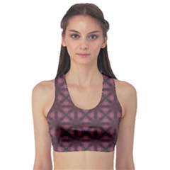 Purple Kaleidoscope Abstract Colorful Pattern Concept Women s Sport Bra by CoolDesigns