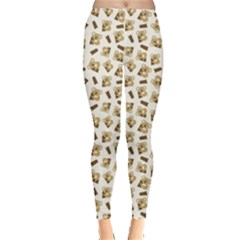 Colorful Pattern With Koalas Leggings by CoolDesigns